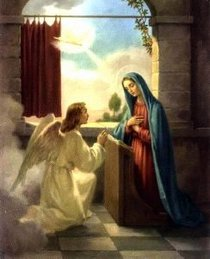Image result for annunciation of mary